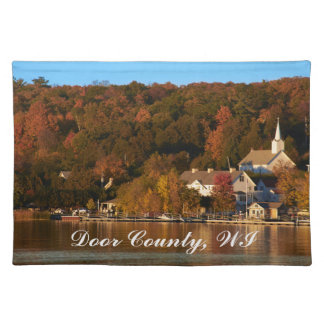 Ephraim, Wisconsin at Sunset Placemat