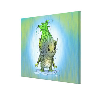 "EPI CORN ALIEN CARTOON CANVAS 0.75""  - 20"" x 16"""