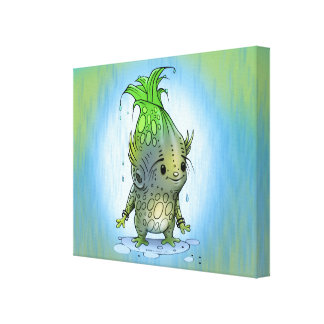 "EPI CORN ALIEN CARTOON CANVAS 1.5""  - 20"" x 16"""