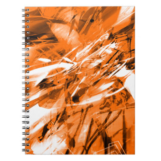 EPIC ABSTRACT d10s3 Spiral Note Book
