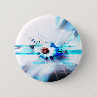 EPIC ABSTRACT d1s3 6 Cm Round Badge