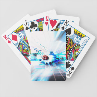 EPIC ABSTRACT d1s3 Bicycle Playing Cards
