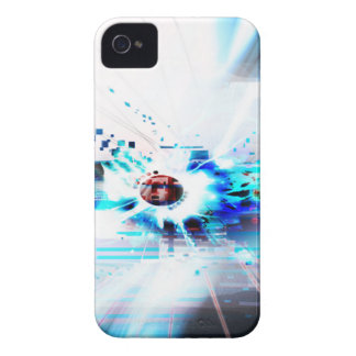EPIC ABSTRACT d1s3 iPhone 4 Covers