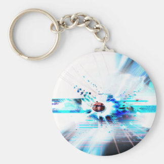 EPIC ABSTRACT d1s3 Key Ring