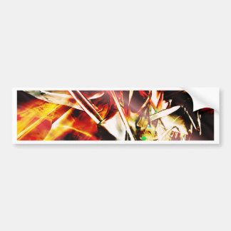 EPIC ABSTRACT d3s3 Bumper Sticker