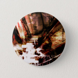 EPIC ABSTRACT d4s3 6 Cm Round Badge
