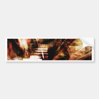 EPIC ABSTRACT d4s3 Bumper Sticker