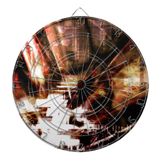 EPIC ABSTRACT d4s3 Dartboard