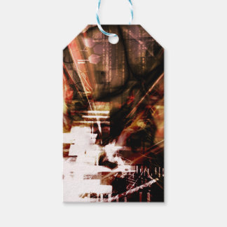 EPIC ABSTRACT d4s3 Gift Tags