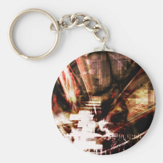 EPIC ABSTRACT d4s3 Key Ring