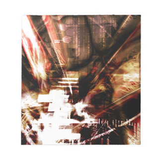 EPIC ABSTRACT d4s3 Notepad