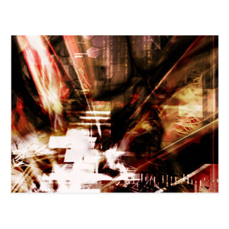 EPIC ABSTRACT d4s3 Postcard