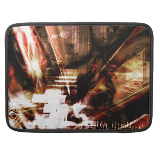 EPIC ABSTRACT d4s3 Sleeve For MacBook Pro