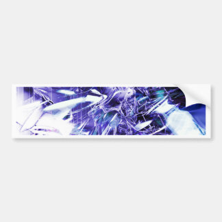 EPIC ABSTRACT d5s3 Bumper Sticker