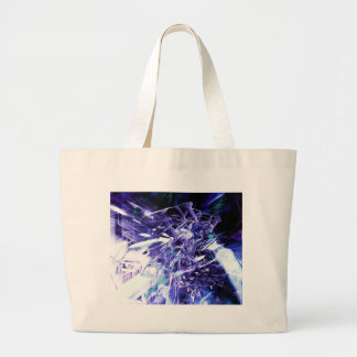 EPIC ABSTRACT d5s3 Large Tote Bag