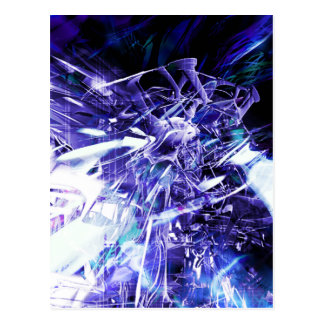 EPIC ABSTRACT d5s3 Postcard