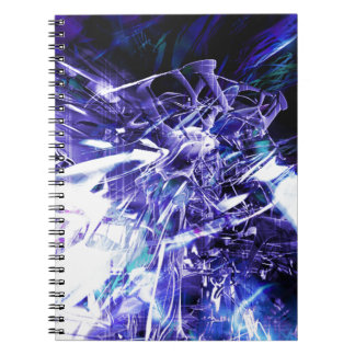 EPIC ABSTRACT d5s3 Spiral Notebook