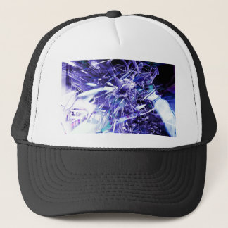 EPIC ABSTRACT d5s3 Trucker Hat