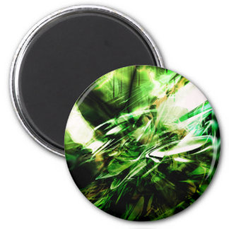 EPIC ABSTRACT d6s3 6 Cm Round Magnet
