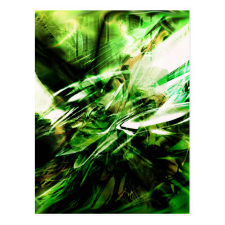 EPIC ABSTRACT d6s3 Postcard