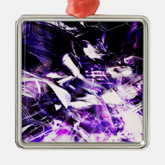 EPIC ABSTRACT d8s3 Metal Ornament