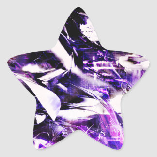 EPIC ABSTRACT d8s3 Star Sticker