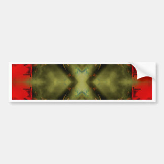 EPIC ABSTRACT ST1 TEN BUMPER STICKER