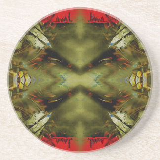 EPIC ABSTRACT ST1 TEN DRINK COASTER