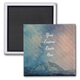 'Epic Backdrop' Add your own custom quote/text Magnet