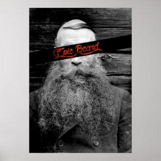 Epic beard poster
