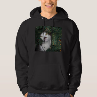 Epic Cat Christmas sweater!!! Hooded Pullover