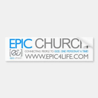 Epic Church Bumper Sticker