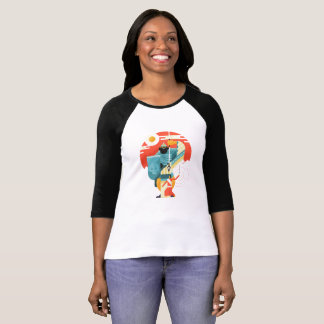 Epic David And Goliath Christian Bible Scene T-Shirt