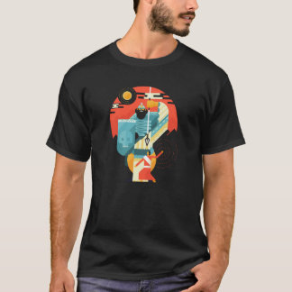 Epic David And Goliath Christian Bible Scene T-Shirt