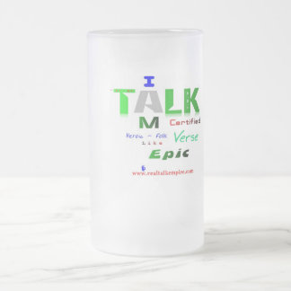 epic - glass frosted glass mug