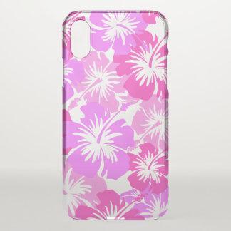 Epic Hibiscus Hawaiian Floral Aloha - Pink iPhone X Case
