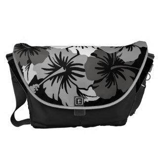 Epic Hibiscus Hawaiian Large Messenger Bag