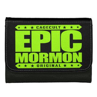 EPIC MORMON - Warrior Latter-Day Saint Church Goer Wallets For Women