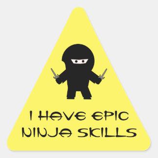 Epic Ninja skills sticker