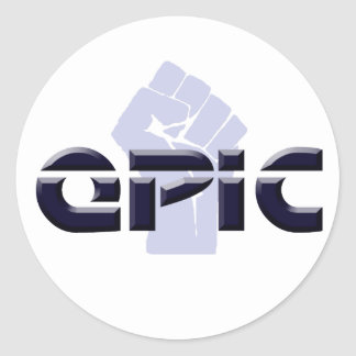 EPIC - OASIS ROUND STICKER