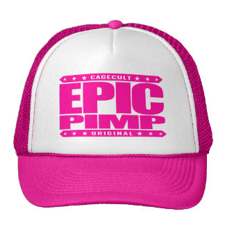 EPIC PIMP - Ruthless Silicon Valley Angel Investor Cap