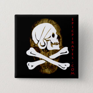 Epic Pirates Banner #9 15 Cm Square Badge