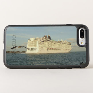 Epic Pursuit - Gull and Cruise Ship OtterBox Symmetry iPhone 8 Plus/7 Plus Case