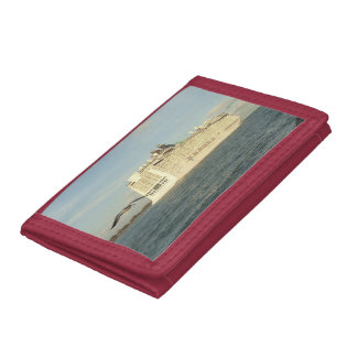 Epic Pursuit - Gull and Cruise Ship Trifold Wallet
