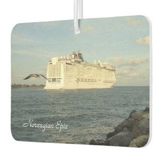 Epic Pursuit - Gull Follows Cruise Ship Custom