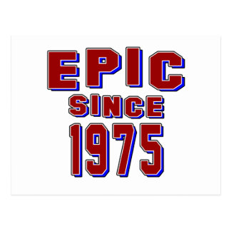 Epic since 1975 postcard