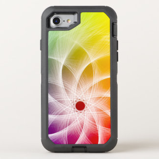 Epicly Colorful Pinwheel Design OtterBox Defender iPhone 8/7 Case