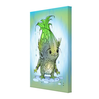"EPICORN ALIEN  CANVAS 1.5""  Small 16.00"" x 24.00"""