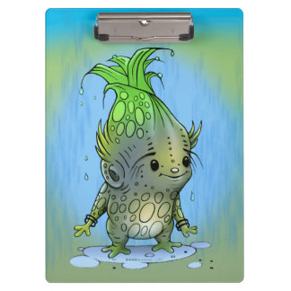 EPICORN ALIEN  CARTOON Clipboard