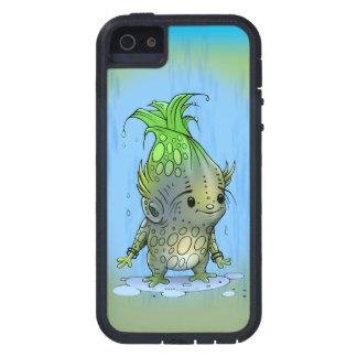 EPICORN  ALIEN CARTOON iPhone SE + iPhone 5/5S T X Case For The iPhone 5